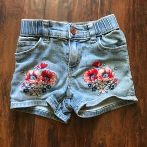 GUC Gap embroidered shorts size 4